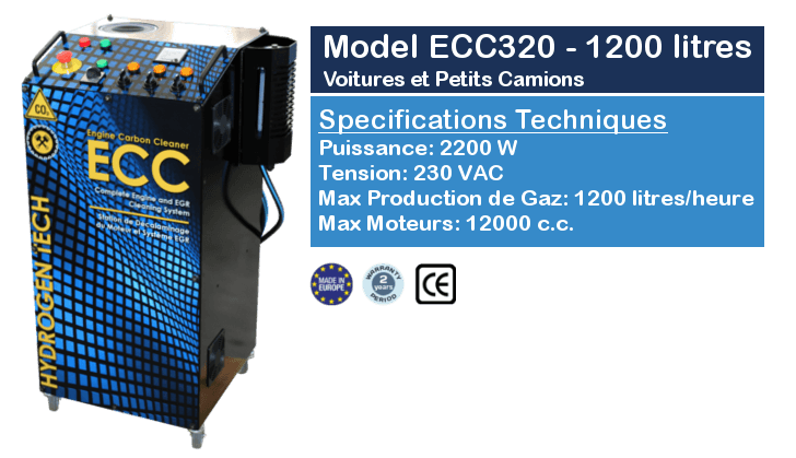 Station Decalaminage ECC320