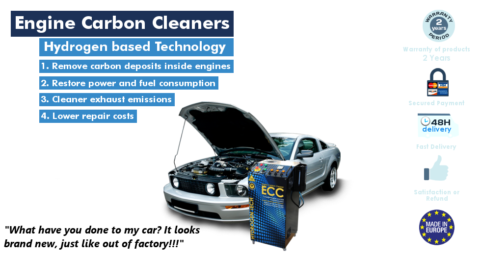 HHO Hydrogen Engine Carbon Cleaner